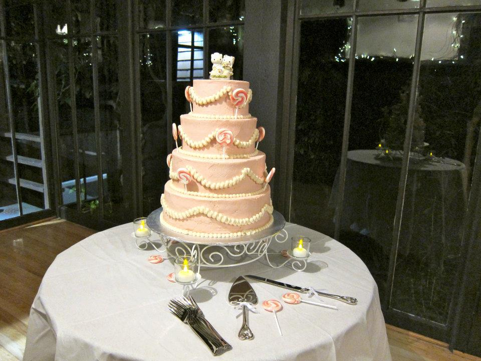 my daughter s vegan wedding cake picture please pass the tofu. Black Bedroom Furniture Sets. Home Design Ideas